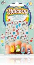 Kinder nagelstickers eenhoorn