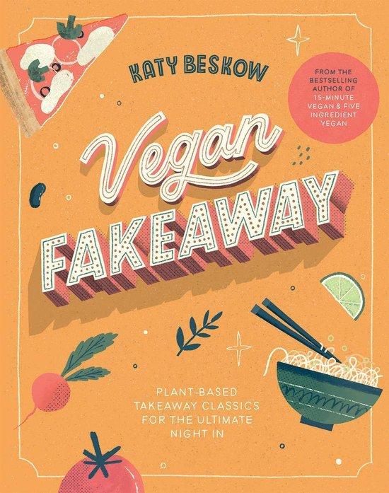 Boek cover Vegan Fakeaway van Katy Beskow (Hardcover)