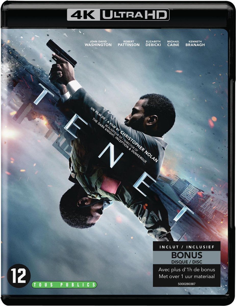 Tenet (4K Ultra HD Blu-ray)-