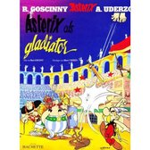 Boek cover Asterix 04. als gladiator van Albert Uderzo (Onbekend)