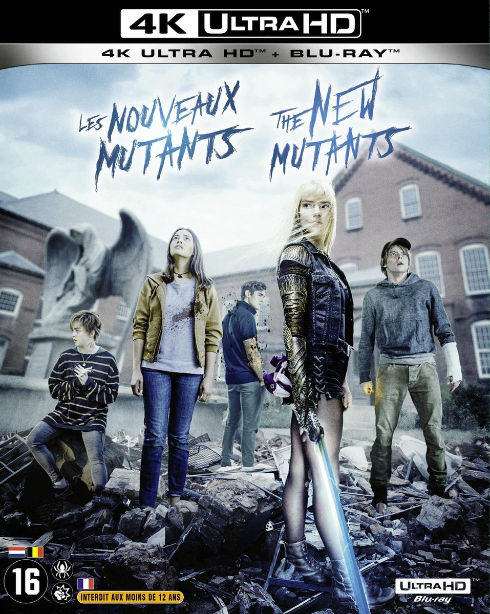 The New Mutants (4K Ultra HD Blu-ray) (Import zonder NL)-