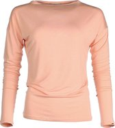 The Vintage Longsleeve Shirt - Apricot (zalm) - XS - bamboe kleding dames