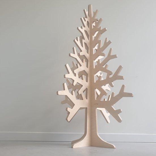 Kerstboom hout 120cm