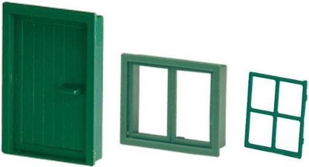 Bouwstenen deur + raam