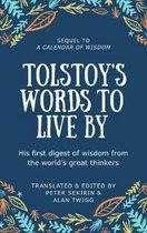 Boek cover Tolstoys Words To Live By van Leo Tolstoy