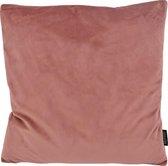 Velvet Oudroze Kussenhoes | Fluweel - Polyester | 45 x 45 cm | Roze