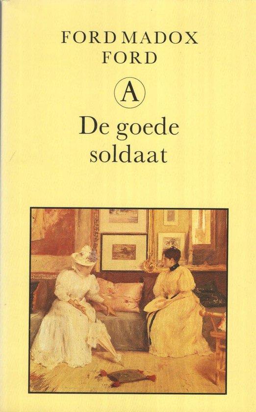 Boek cover Goede soldaat van Ford Madox Ford (Paperback)