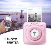 Originele PeriPage Pocket Printer | Mini Printer | Inclusief Papier - Roze