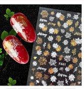 Nagel Stickers Herfst Nail Art 3D - Nagelversiering - Decoratie Stickers - Nagelfolie - 92 stickers