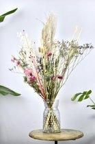 Droogbloemen boeket 70 cm| White | Dried Flowers | Gedroogde bloemen