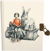 Afbeelding van Roger La Borde - Dagboek met slot en geïllustreerd - Hardcover - Harde kaft