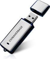 Voice recorder USB Flash 16GB Zwart en zilver