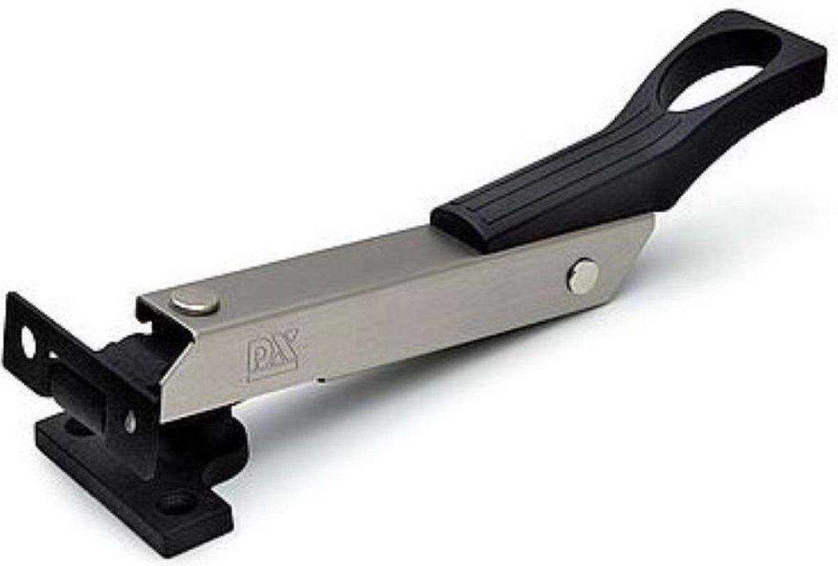 DULIMEX raamuitzetter   wegdraaibaar   RVS / antracietgrijs   lengte 190 mm   raam opent maximaal 16