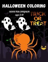 Halloween Coloring Book for Children Ages