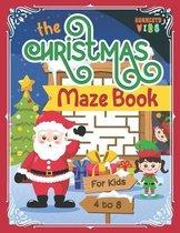 The Christmas Maze Book