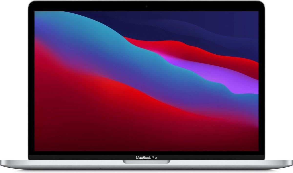 Apple MacBook Pro (November, 2020) MYDC2N/A - 13.3 inch - Apple M1 - 512 GB - Zilver