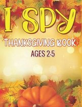 I Spy Thanksgiving Book Ages 2-5