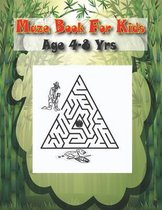 Maze Book For Kids Age 4-8 Yrs