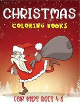 Christmas Coloring Books For Kids Ages 4-8: A Happy Christmas Coloring Book for Toddlers (christmas coloring book for children)
