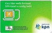 KPN Prepaid | 3in1 Simkaart | €10,- Beltegoed