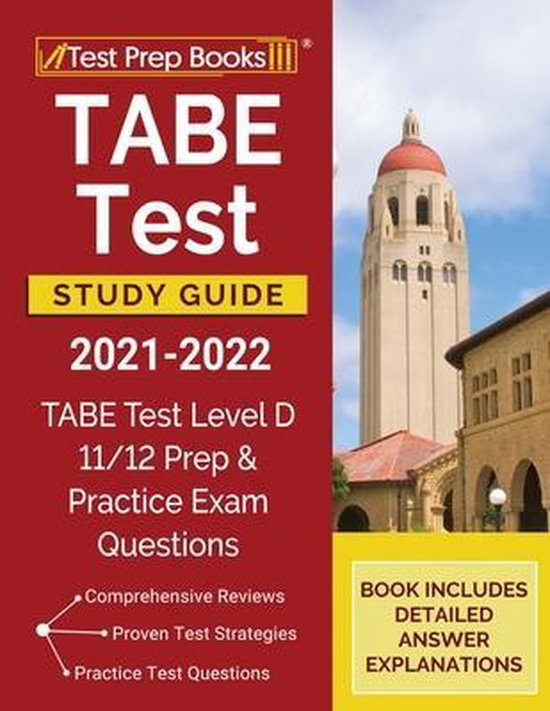 TABE Test Study Guide 2021-2022