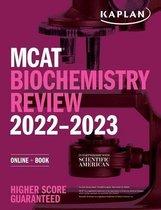 Boek cover MCAT Biochemistry Review 2022-2023 van Kaplan Test Prep