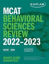 Boek cover MCAT Behavioral Sciences Review 2022-2023 van Kaplan Test Prep