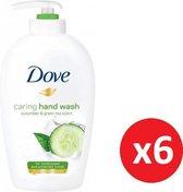 DOVE Care Hand Wash Handzeep - Moisterising Crème - 250ml x 6