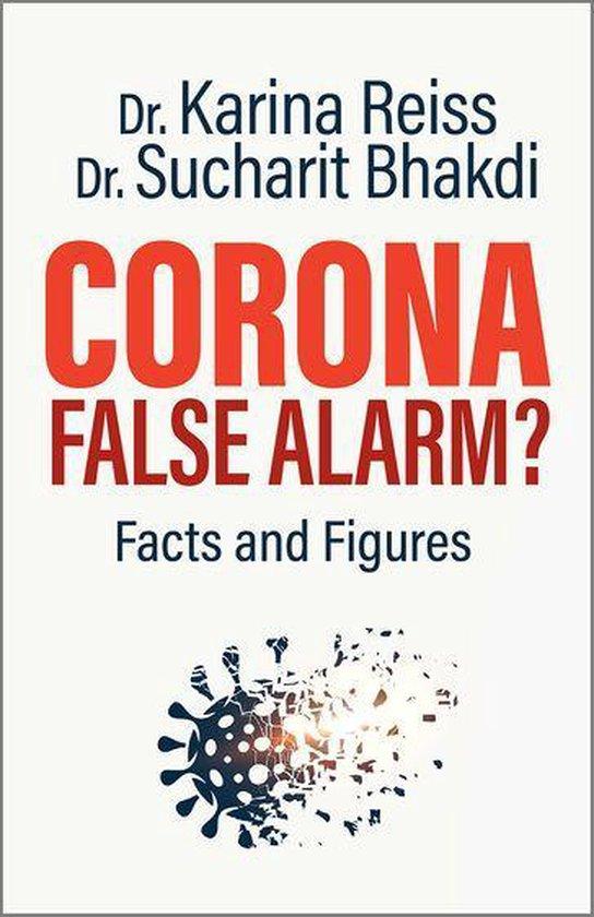 Boek cover Corona, False Alarm? van Karina Reiss, Ph.D. (Onbekend)
