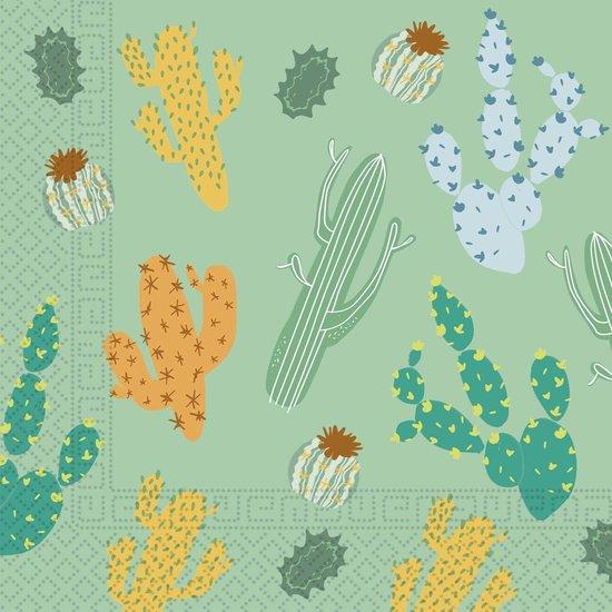 Cactus Servetten 33cm 20st