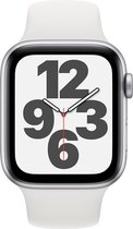 Apple Watch SE - Smartwatch - 44mm - Zilver
