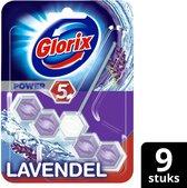 Glorix Power 5 Toiletblok - Lavendel - Voordeelverpakking