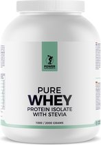 Power Supplements - Stevia Whey Protein Isolate - 2kg - Framboos