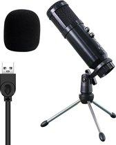 Shockley© Studio Microfoon Tripod met USB Aansluiting - USB Microfoon - Microfoon voor PC