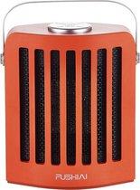 Olivier's Compacte Infrarood Heater - Elektrische Heater met 3 Standen (Max. 950 Watt) en Snelle Verwarming, Touch Bediening en 75° Draaifunctie - Spatwaterdicht en Geschikt voor Binnen en Buiten