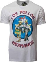 T-shirt Breaking Bad Los Pollos wit Xl