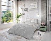 Sleeptime Luxurious Life - Dekbedovertrekset - Tweepersoons - 200x200/220 + 2 kussenslopen 60x70 - Grijs