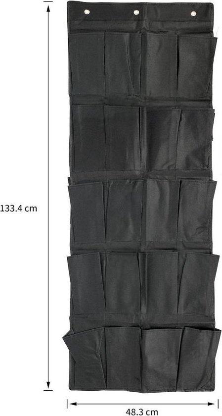 ® Hangende Deur Schoenenzak - 10 paar Schoenen - Schoenen Opbergsysteem aan Deur - Schoenenkast - Schoenenzak Organizer