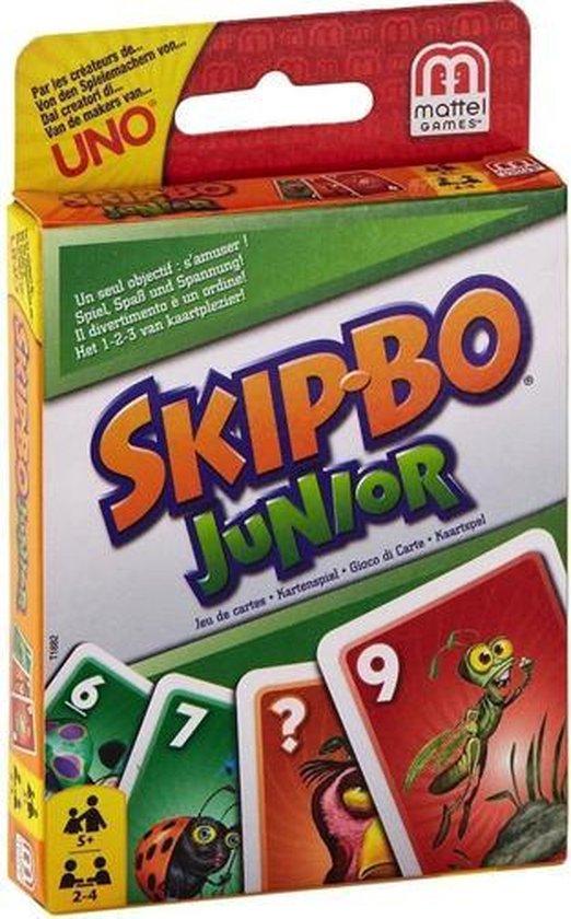 Afbeelding van het spel Mattel Games - SkipBo - Junior