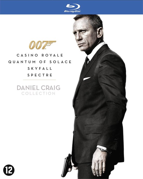 James Bond - Daniel Craig Collection (Blu-ray)
