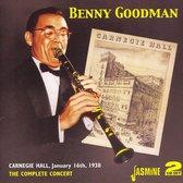 Complete Benny Goodman Carnegie Hal
