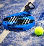 Camewin Padel Racket (Blauw) 2021 - incl. tas