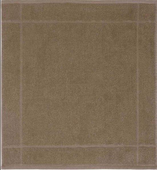 Clarysse Keukendoek Bruin / Taupe 50x50 cm - 12 stuks