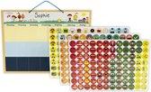 Planbord Kind - Weekplanner Kind: met 288 Unieke Pictogrammen! | Kinderplanborden | Kinderplanbord| Peuterplanbord|