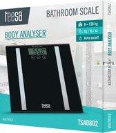Teesa TSA0802 - Digitale personenweegschaal met body analyzer