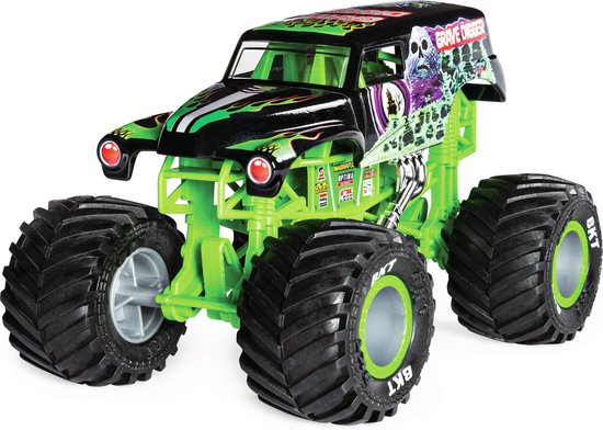 Bol Com Monster Jam Collector Die Cast Trucks 1 24 Grave Digger