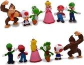 super mario speelfiguren - super mario actiefiguren - 7 cm 6 stuks - Wii games figuren
