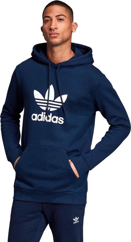 bol.com | adidas Originals Trefoil Hoodie Heren - Collegiate ...