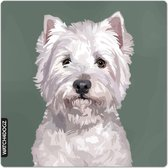West Highland white terrier waakbord