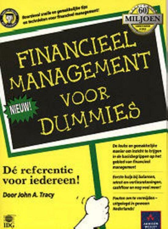 Financieel management voor Dummies - John A. Tracy |